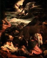 Благовещение пастухам (1565-1568 годы)