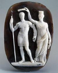 Камея императора Константина (4 век)
