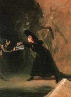 Франсиско де Гойя. Картина Насильно влюбленный