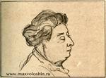 Елена Оттобальдовна Кириенко-Волошина, мать поэта (1850-1923)