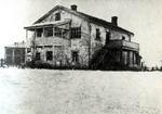 Дом Волошина в Коктебеле. Зима, между 1908-1912 гг. Фото М. Волошина.