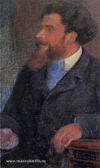 Портрет работы Е. Кругликовой. Париж, 1901