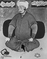 Портрет Шейбани-хана (Каммаледин Бехзад)