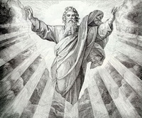 Антропоморфизм в изображениях Бога