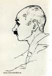 К.Ф. Богаевский. Рисунок М. Волошина