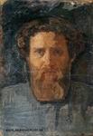 Портрет работы М. Сабашниковой (неточно). Коктебель, 1906 (неточно)