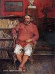 Портрет работы М. Зайцева. Коктебель, 1925