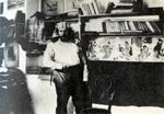 М. Волошин в своем доме в Коктебеле. 1906 г.