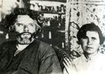 М.А. Волошин и М.С. Волошина. Коктебель. 1920-е гг.