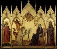 Благовещение (М. Симоне, 1333 г.)
