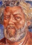 Портрет работы К. Петрова-Водкина. Коктебель, 1927