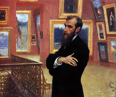 Портрет П.М. Третьякова (И.Е. Репин)