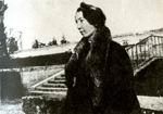 М.В. Сабашникова, первая жена М. Волошина. Версаль, 1905 г. Фото М. Волошина.