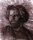 Портрет работы Н. Хрустачева. Коктебель, 1920