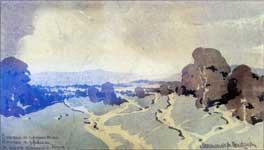 Максимилиан Волошин. Пейзаж.