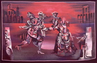 Театр масок (В. Бегиджанов, гобелен)
