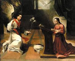 Благовещение (Лодовико Карраччи)