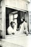 Е.О. Волошина и М.В. Сабашникова. Коктебель. 1906 г.