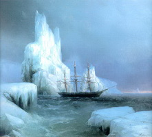 Ледяные горы (И.К. Айвазовский, 1870 г.)