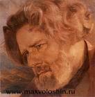Портрет работы В. П. Андерса. Коктебель, 1927
