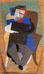 Портрет работы Диего Ривера. Париж, 1916.