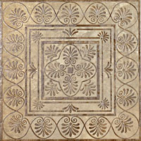 Керамическая плитка (эстампаж)